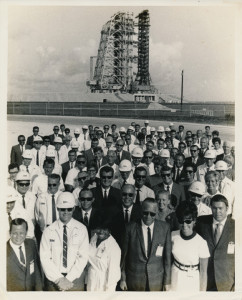 Some of the many IBMers who worked at Cape Kennedy during the early 60's.